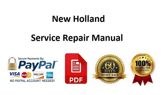 New Holland F5C, F5A Diesel Engine Workshop Service Repair Manual Cnh