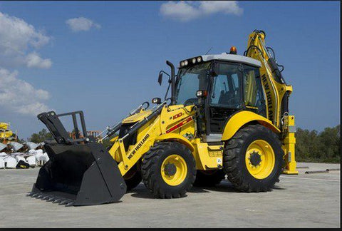 New Holland B90B, B90BLR, B100B, B100BLR, B100BTC, B110B, B110BTC, B115B Backhoe Loader Service Repair Manual