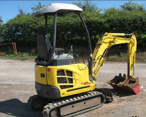 New Holland E18B Mini Crawler Excavator Workshop Service Repair Manual