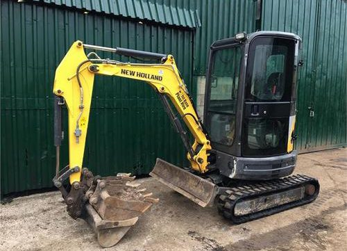 New Holland E26BSR, E29BSR Mini Crawler Excavator Workshop Service Repair Manual