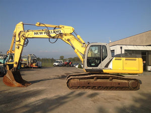 New Holland Kobelco E215B, E245B Crawler Excavator Service Repair Manual