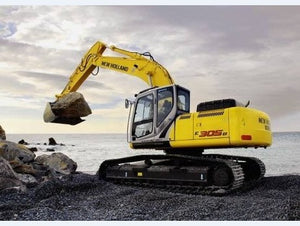 New Holland Kobelco E265B, E305B Crawler Excavator Service Workshop Repair Manual Pdf