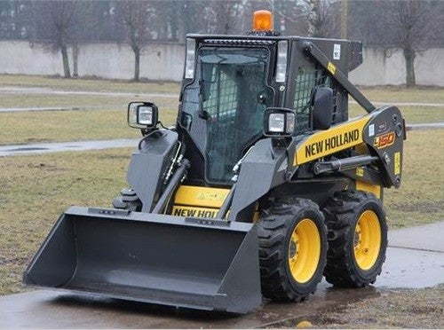 New Holland L140, L150 Skid Steer Loader Service Repair Manual PDF