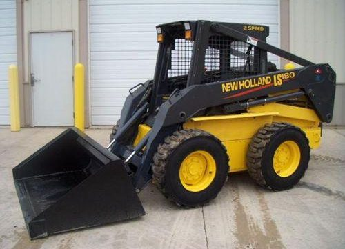 New Holland LS180.B, LS185.B, LS190.B Skid Steer Loader Workshop Service Repair Manual