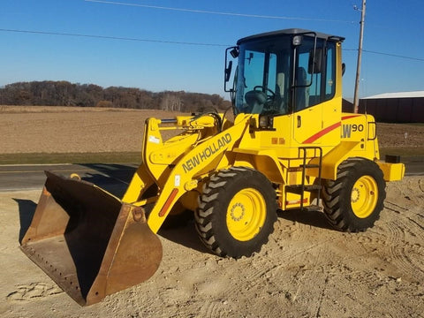 Download New Holland LW90 Wheel Loader Service Repair Manual 75131004