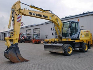 New Holland MH8.6 Industry Tier III Wheel Excavator Service Repair Manual