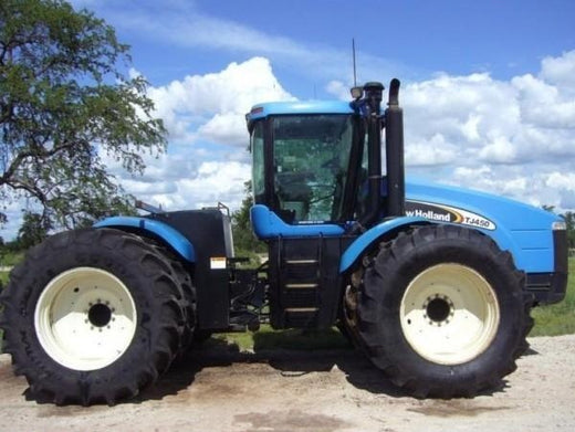 New Holland TJ450 Ag Tractor Illustrated Parts Catalog Manual