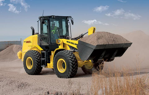 New Holland W110TC Wheel Loader Service Repair Manual II-2005
