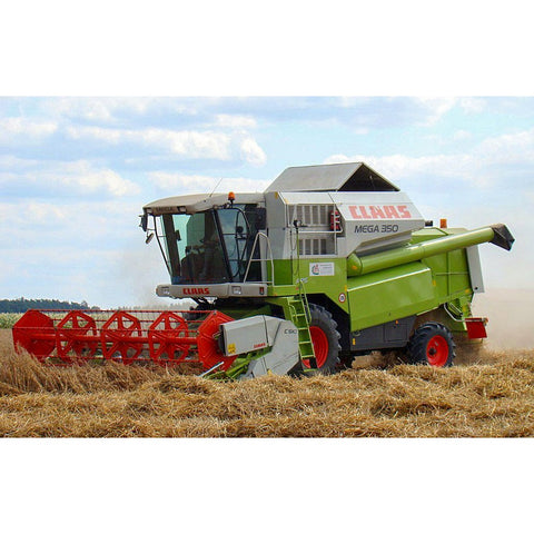 Claas Mega 370 - 350 Combine Harvester Operator's Manual