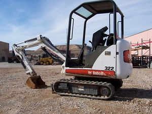 PDF Bobcat 320 322 Excavator Service Repair Manual 562313001, 517811001