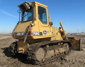 PDF John Deere 750C, 850C Crawler Dozer Test Service Manual TM1588