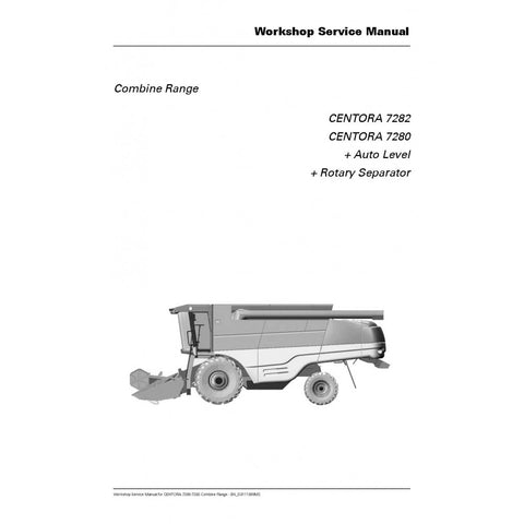 Claas Tucano 450 840 Combine Harvester Service Repair Manual