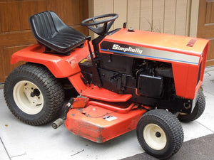Simplicity GTH-L, 7000, 7100 Large Frame Garden Tractor Service Repair Manual