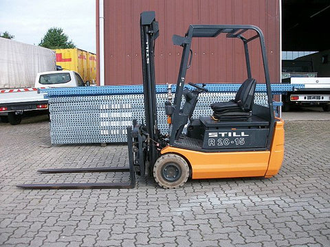 Still R20-15, R20-16, R20-17, R20-20 Electric ForkLift Truck Series 2002,2004,2005,2007 Parts Manual