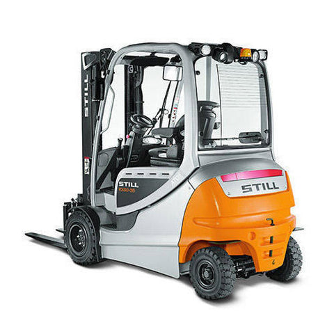 Still RX60-25, RX60-30, RX60-35 Electric Forklift Truck Series 6345-6348, 6353-6356 Workshop Service Repair Manual
