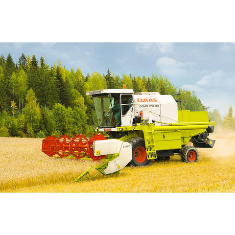 Claas Dominator 130 Combine Harvester Technical Systems manual