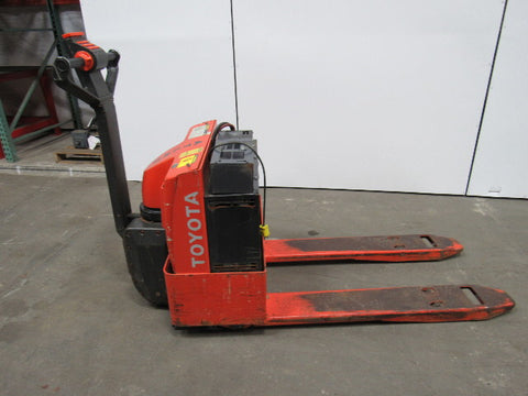 Toyota 6HBW20 Electric Pallet Truck (SN.10011-17000) Workshop Service Repair Manual