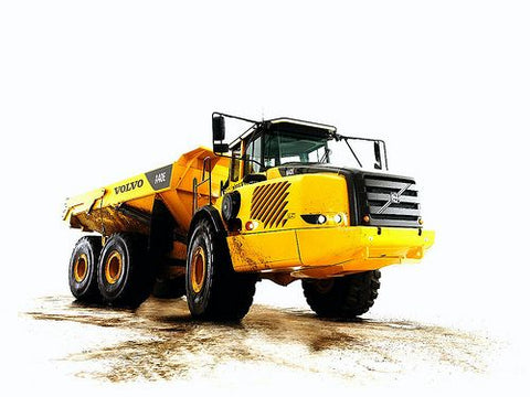 VOLVO A40E ARTICULATED HAULERS OPERATOR'S MANUAL