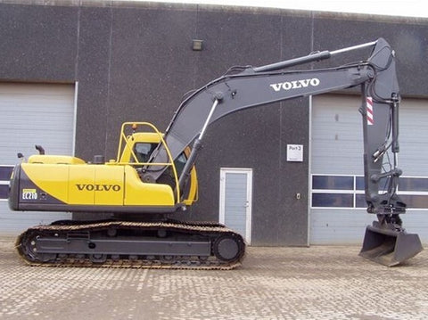 VOLVO EC210 LC EC210LC EXCAVATOR SERVICE REPAIR MANUAL INSTANT DOWNLOAD
