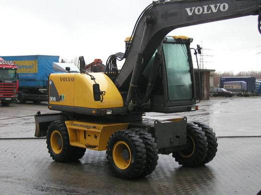 VOLVO EW140 EXCAVATOR SERVICE REPAIR MANUAL PDF