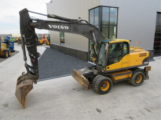 VOLVO EW180C EXCAVATOR SERVICE REPAIR MANUAL PDF