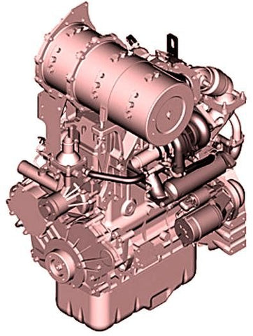 Yanmar 4TNV94CHT Diesel Engine Interim Tier 4 Stage IIIB Technical Manual CTM116319