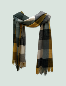 Thick winter scarves