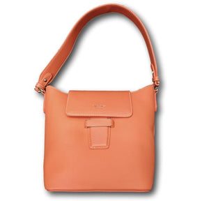 CL55 Orange bucket shoulder bag