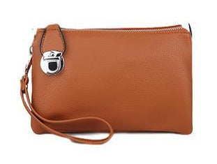 CL003 Tan Tab Purse Bag