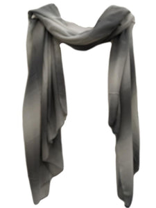 Grey Stripes scarf