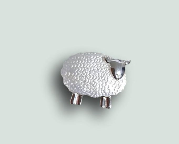 BR030 Sheep Brooch