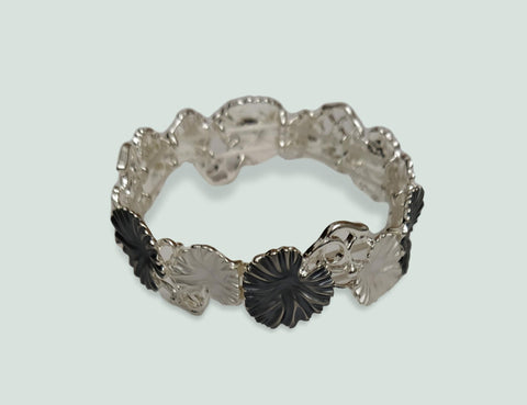black and white bracelet
