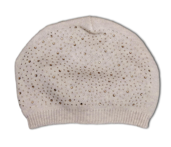 H1 Grey Beanie Hat with sparkles