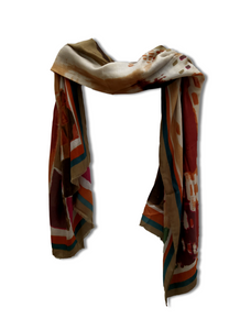Neutral colours Scarf