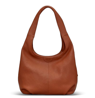 SB01 Leather Tan Meehan Shoulder Bag