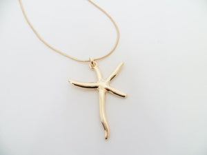 N006 Starfish  Necklace