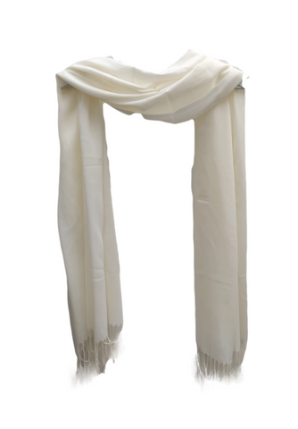 PS010 Cream scarf