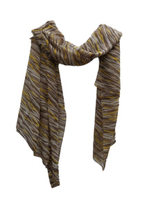 SC044 Tiger stripes scarf