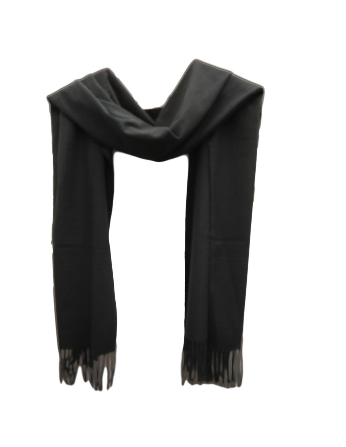 PS003 Black pashmina weight scarf.
