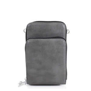 CL05 Grey phone bag.
