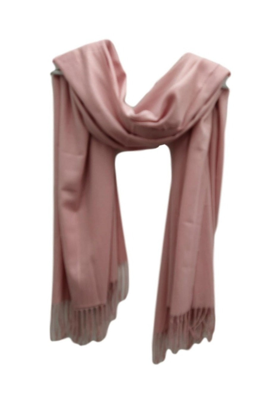 PS002 Pink pashmina weight  Scarf.