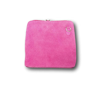 CL50 Small Leather cross body bag hot pink suede