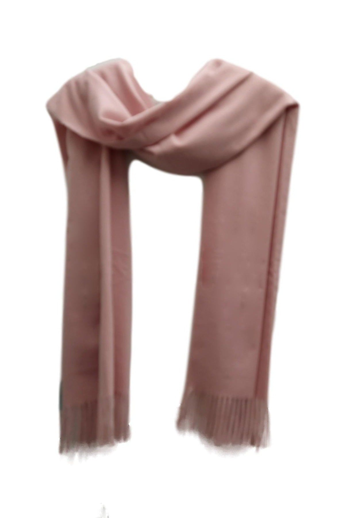 Heavy weight pashimna style scarf pink