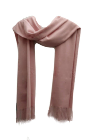 PS005p Heavy weight pashimna style scarf pink