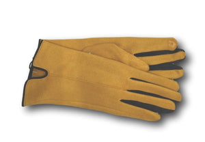 yellow mustard gloves