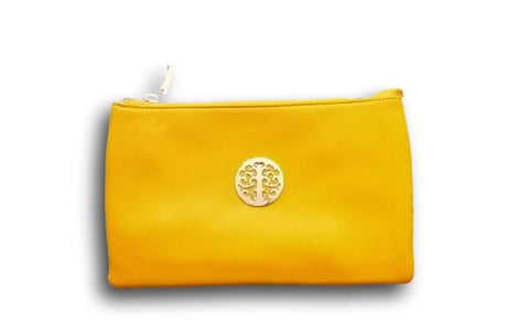 CL67 Yellow Tree clutch