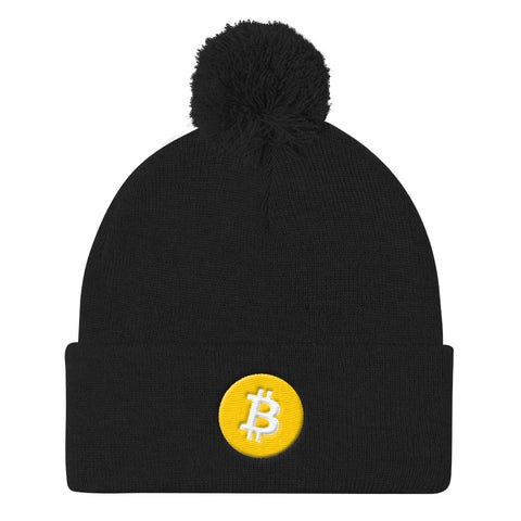 Bitcoin Winter Beanie