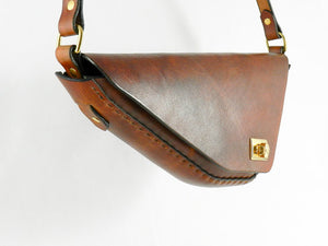 Handmade Leather Purse \ Leather Shoulder Bag \ Leather Crossbody