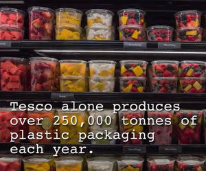 How can I  reduce plastic food packaging waste?
