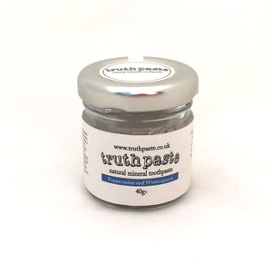 Truthpaste Original Natural Peppermint & Wintergreen Toothpaste 40g